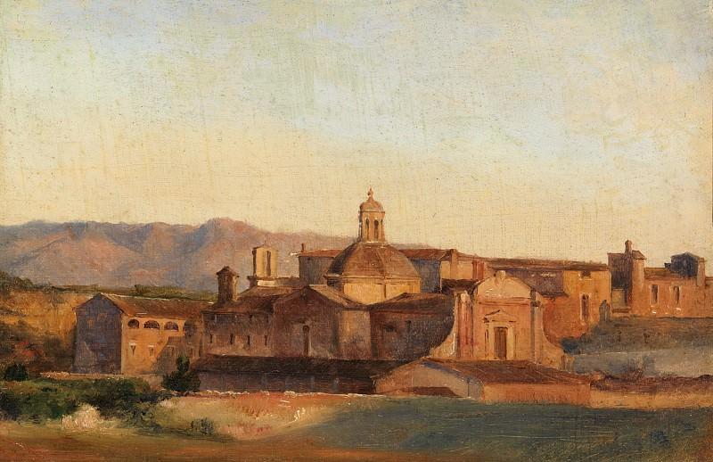 Léon Fleury - Convent at Subiaco. Metropolitan Museum: part 3