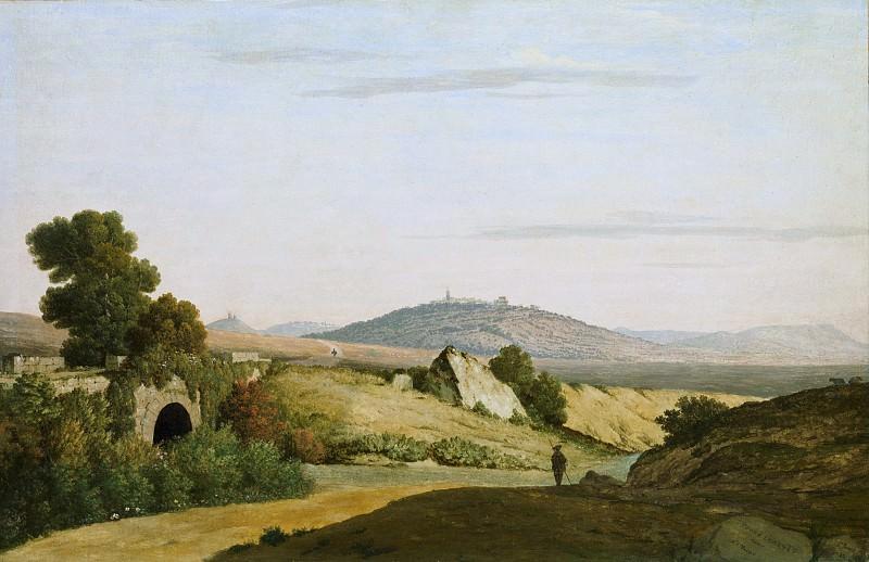 Thomas Jones - Ponte Loreto near Nettuno. Metropolitan Museum: part 3