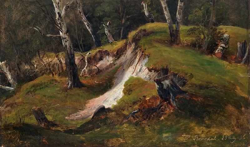 Thomas Fearnley - Escarpment with Tree Stumps, Romsdal. Metropolitan Museum: part 3