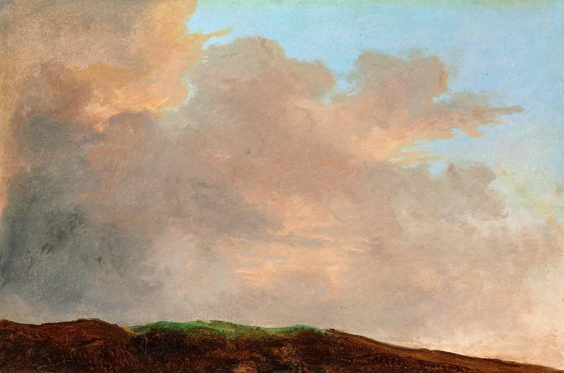 Pierre-Henri de Valenciennes or Circle - Sky at Dusk. Metropolitan Museum: part 3