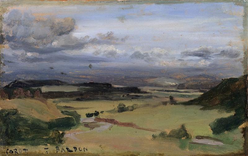 Camille Corot - Landscape at Cività Castellana. Metropolitan Museum: part 3