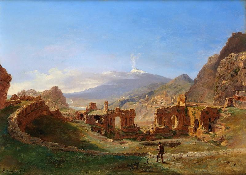 Joséphine Sarazin de Belmont - The Roman Theater, Taormina. Metropolitan Museum: part 3