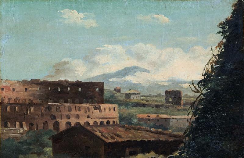 Pierre-Henri de Valenciennes - View of the Colosseum, Rome. Metropolitan Museum: part 3