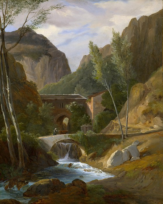 Antoine-Félix Boisselier - The Gorges at Amalfi. Metropolitan Museum: part 3