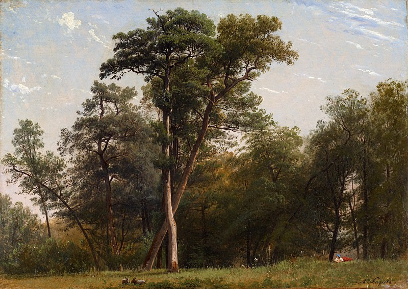 Louis-Auguste Lapito - Clearing at the Edge of a Wood. Metropolitan Museum: part 3