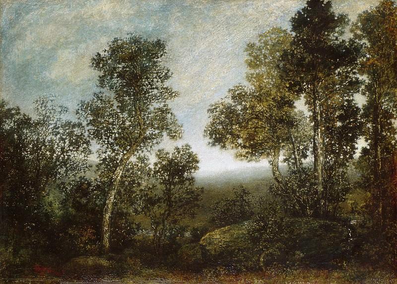 Ralph Albert Blakelock - Landscape. Metropolitan Museum: part 3