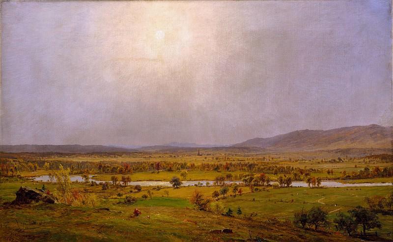 Jasper Francis Cropsey - Pompton Plains, New Jersey. Metropolitan Museum: part 3