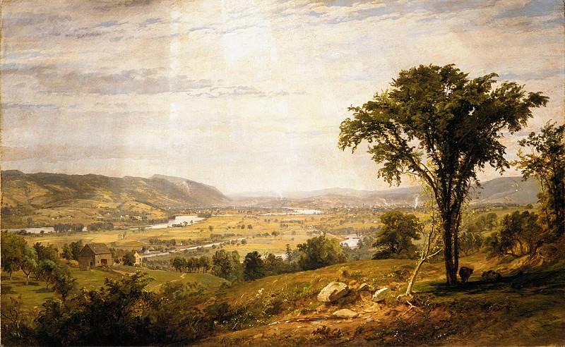 Jasper Francis Cropsey - Wyoming Valley, Pennsylvania. Metropolitan Museum: part 3