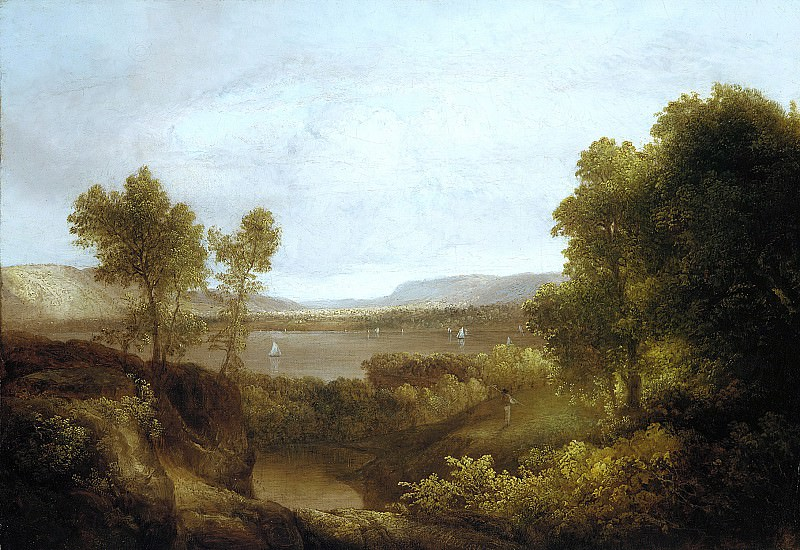 Thomas Doughty - On the Hudson. Metropolitan Museum: part 3