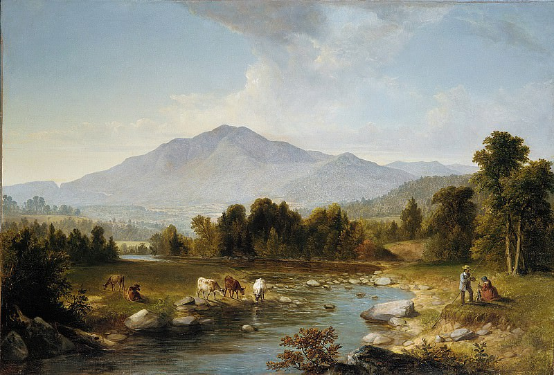 Asher Brown Durand - High Point: Shandaken Mountains. Metropolitan Museum: part 3