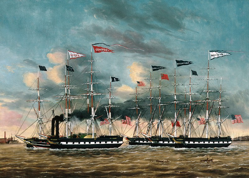 Джеймс Гай Эванс - Буксировка лодки Завоевателя. Музей Метрополитен: часть 3