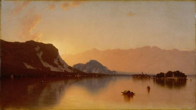 Sanford Robinson Gifford - Isola Bella in Lago Maggiore. Metropolitan Museum: part 3
