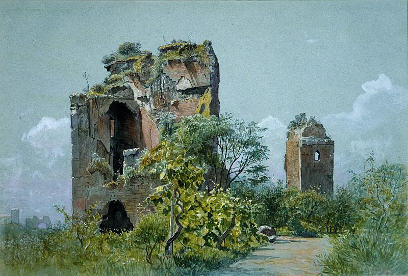 William Stanley Haseltine - Sette Sale (Villa Brancaccio, Rome). Metropolitan Museum: part 3