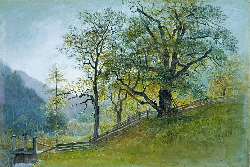 William Stanley Haseltine - Vahrn in Tyrol near Brixen. Metropolitan Museum: part 3