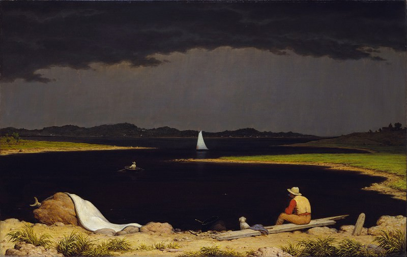 Martin Johnson Heade - Approaching Thunder Storm. Metropolitan Museum: part 3