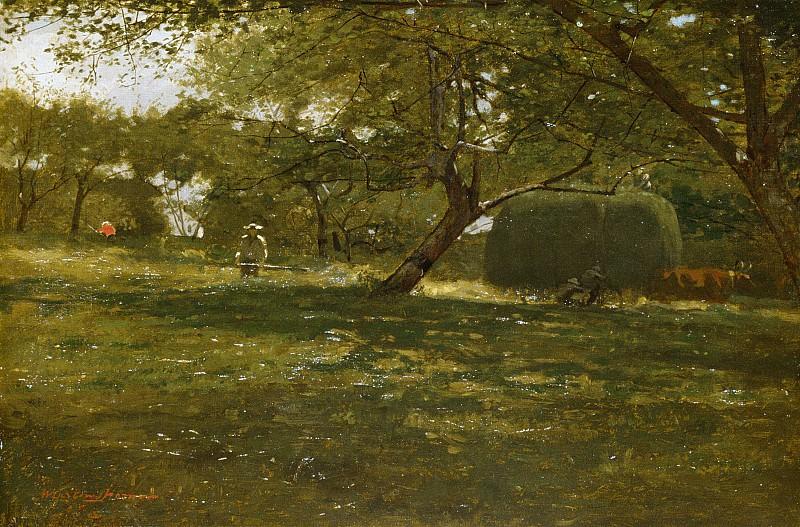 Winslow Homer - Harvest Scene. Metropolitan Museum: part 3