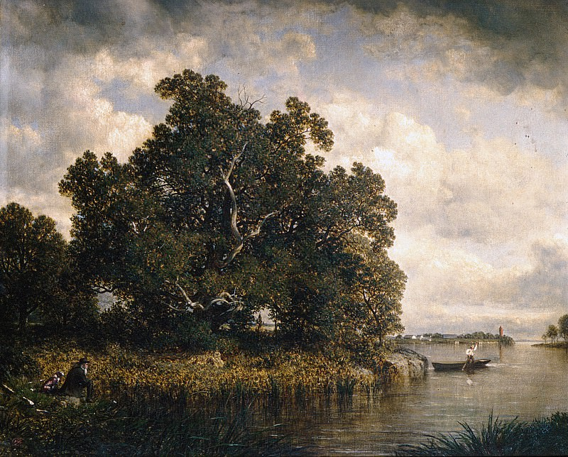 David Johnson - Bayside, New Rochelle, New York. Metropolitan Museum: part 3