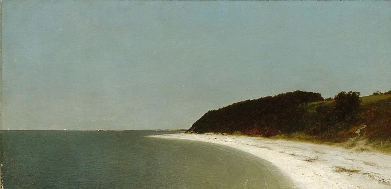 John Frederick Kensett - Eaton's Neck, Long Island. Metropolitan Museum: part 3