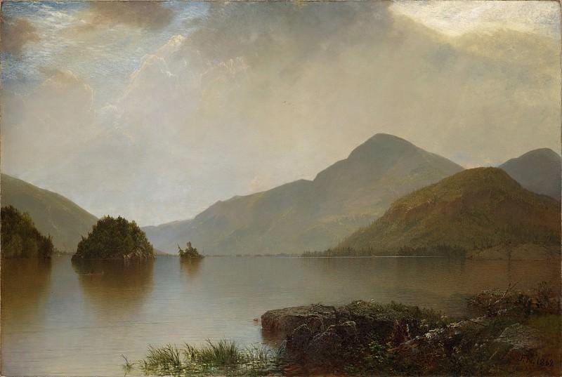 John Frederick Kensett - Lake George. Metropolitan Museum: part 3