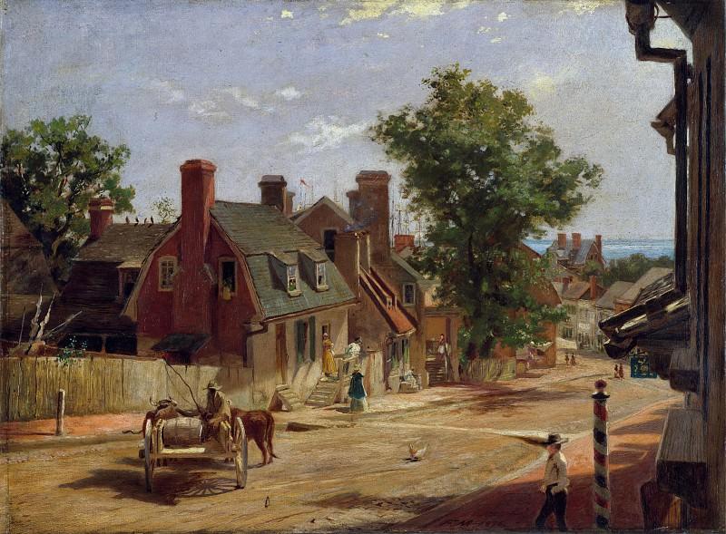 Francis Blackwell Mayer - Old Annapolis, Francis Street. Metropolitan Museum: part 3