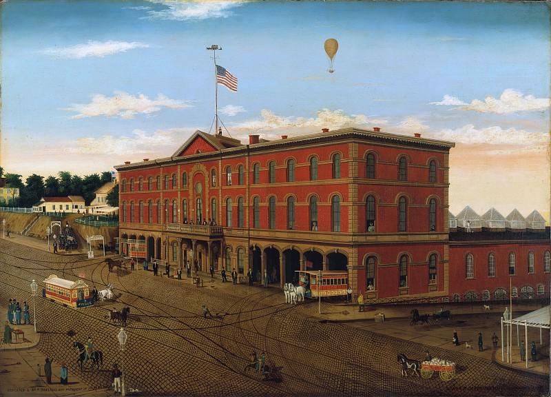 William H. Schenck - The Third Avenue Railroad Depot. Metropolitan Museum: part 3