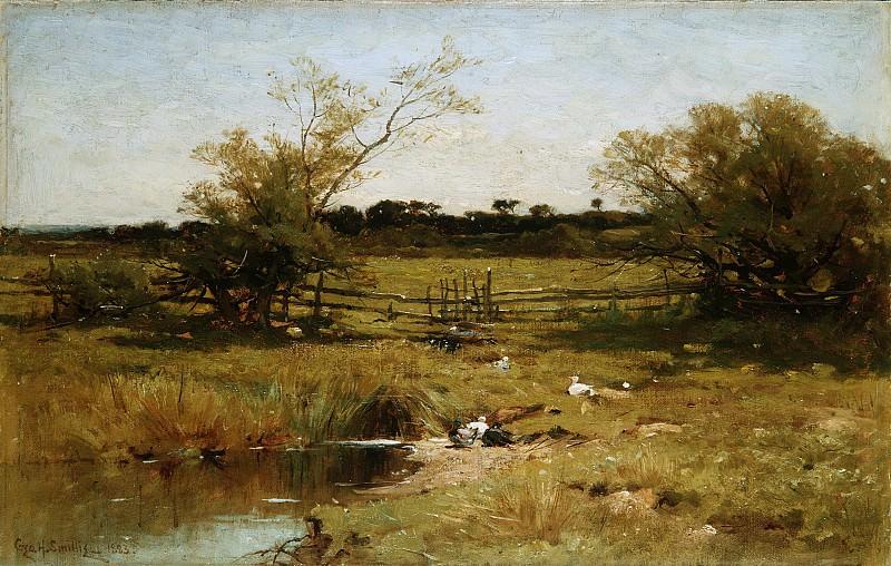 George Henry Smillie - East Hampton Meadows. Metropolitan Museum: part 3