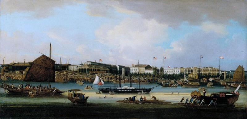 Unknown - Canton Waterfront (The Hongs at Canton). Metropolitan Museum: part 3
