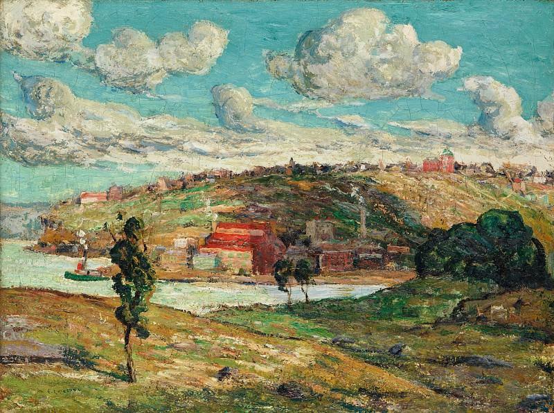 Ernest Lawson - Shadows, Spuyten Duyvil Hill. Metropolitan Museum: part 3