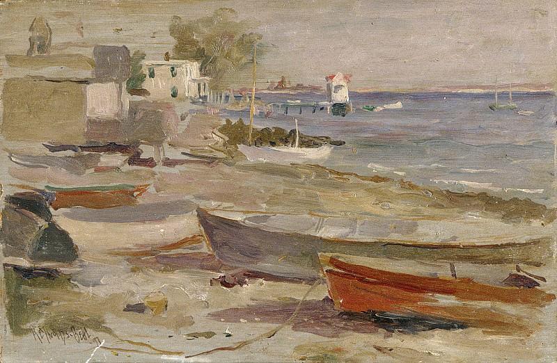 Reynolds Beal - Shore at Orient, Long Island. Metropolitan Museum: part 3
