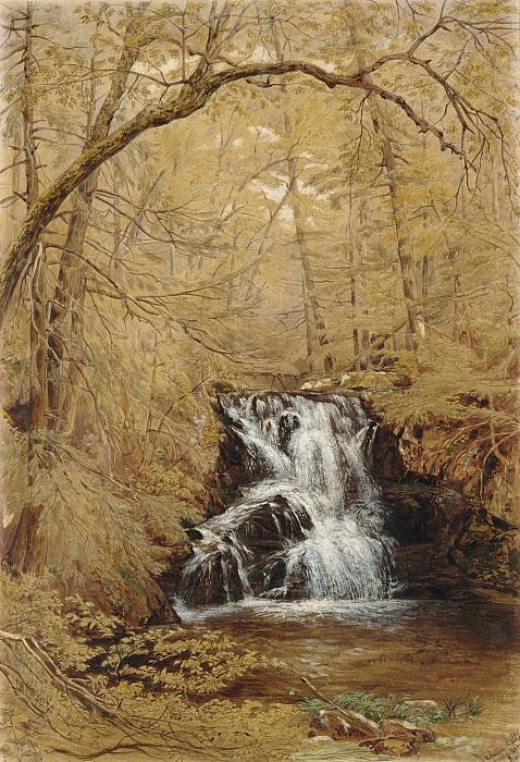William Rickarby Miller - Indian Falls, Indian Brook, Cold Springs, New York. Metropolitan Museum: part 3