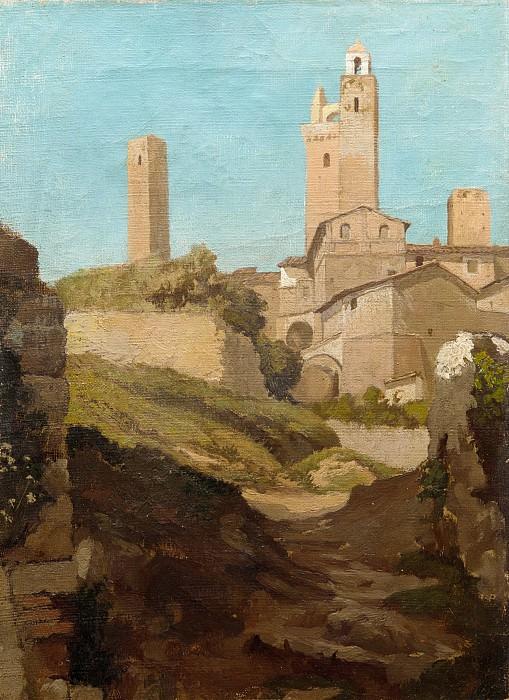 Elihu Vedder - San Gimignano. Metropolitan Museum: part 3