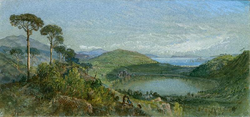 William Trost Richards - Lago Avernus. Metropolitan Museum: part 3