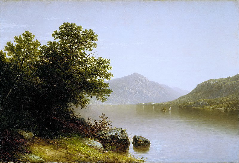 John William Casilear - Lake George. Metropolitan Museum: part 3