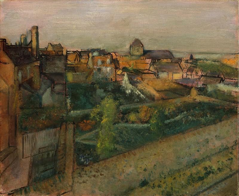 Edgar Degas - View of Saint-Valéry-sur-Somme. Metropolitan Museum: part 3