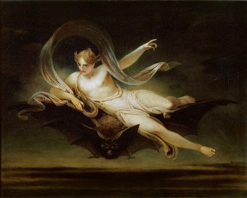 Henry Singleton - Ariel on a Bat's Back. Tate Britain (London)