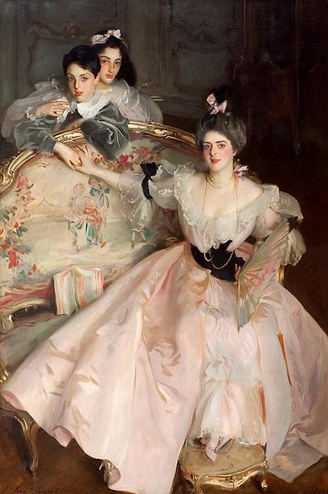 John Singer Sargent - Mrs Carl Meyer and her Children. Tate Britain (London)