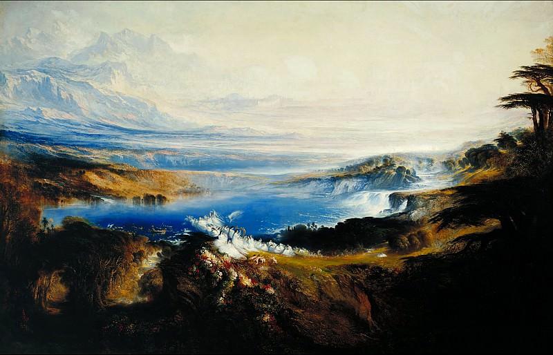 John Martin - The Plains of Heaven. Tate Britain (London)
