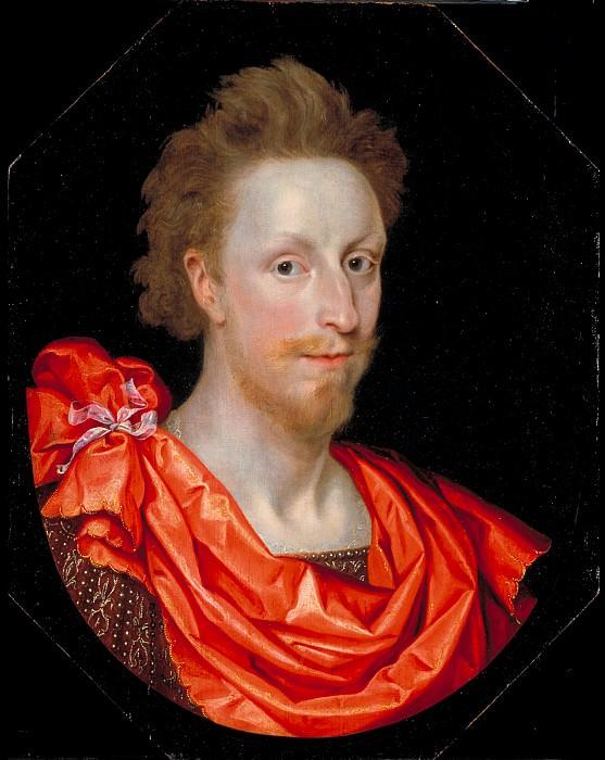Marcus Gheeraerts II - Portrait of a Man in Classical Dress, possibly Philip Herbert, 4th Earl of Pembroke. Tate Britain (London)