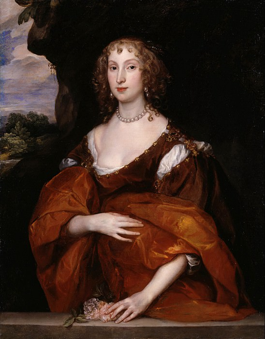 Sir Anthony Van Dyck - Portrait of Mary Hill, Lady Killigrew. Tate Britain (London)