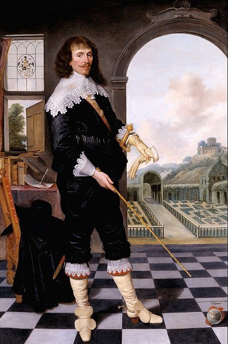 School 17th century - Portrait of William Style of Langley. Tate Britain (London)