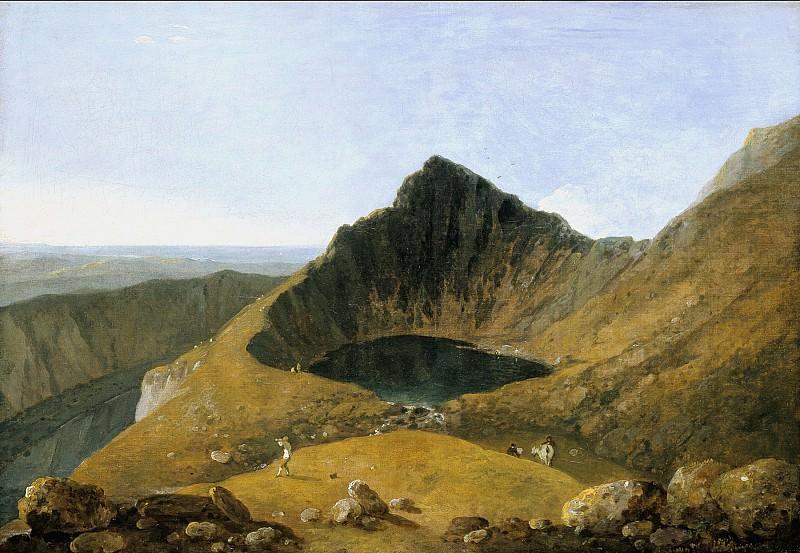 Richard Wilson - Llyn-y-Cau, Cader Idris. Tate Britain (London)
