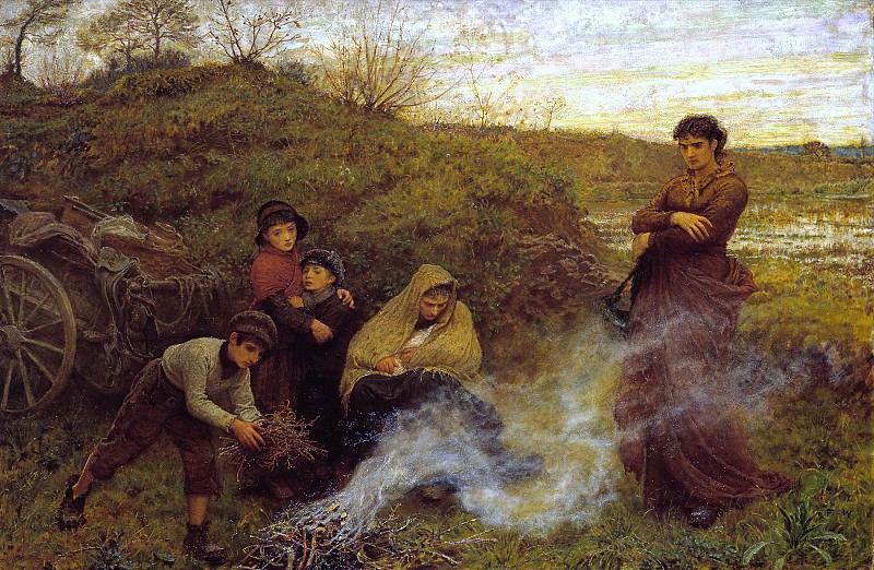 Frederick Walker - The Vagrants. Tate Britain (London)