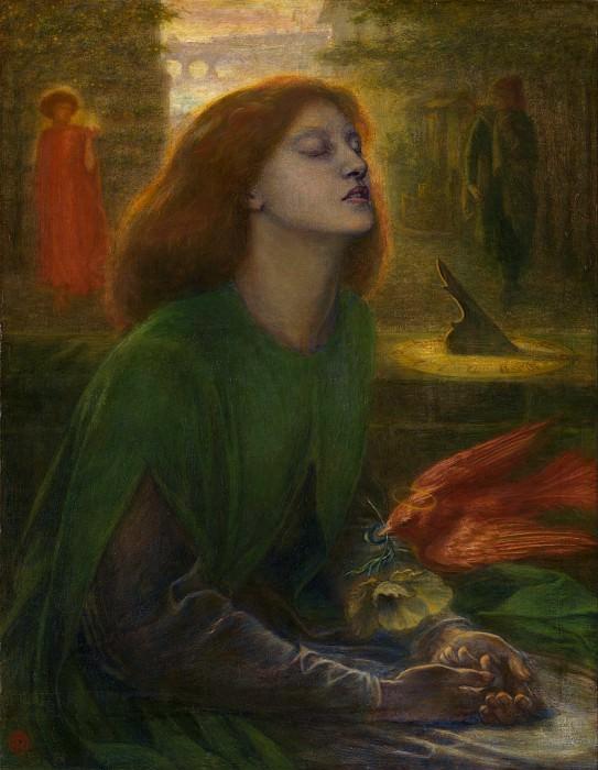 Dante Gabriel Rossetti - Beata Beatrix. Tate Britain (London)