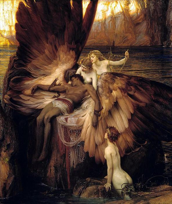 Herbert Draper - The Lament for Icarus. Tate Britain (London)