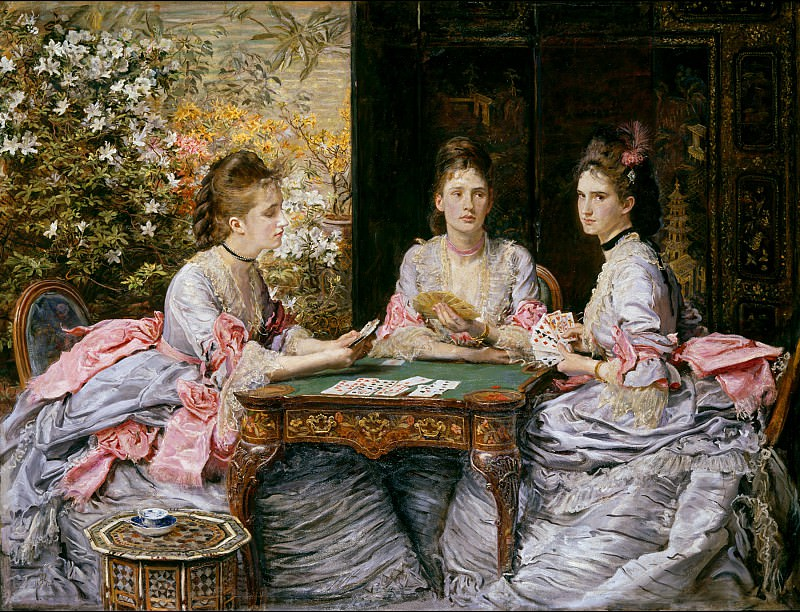 Sir John Everett Millais - Hearts are Trumps. Tate Britain (London)