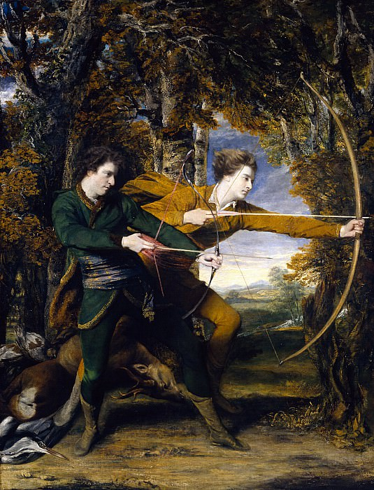 Sir Joshua Reynolds - Colonel Acland and Lord Sydney: The Archers. Tate Britain (London)