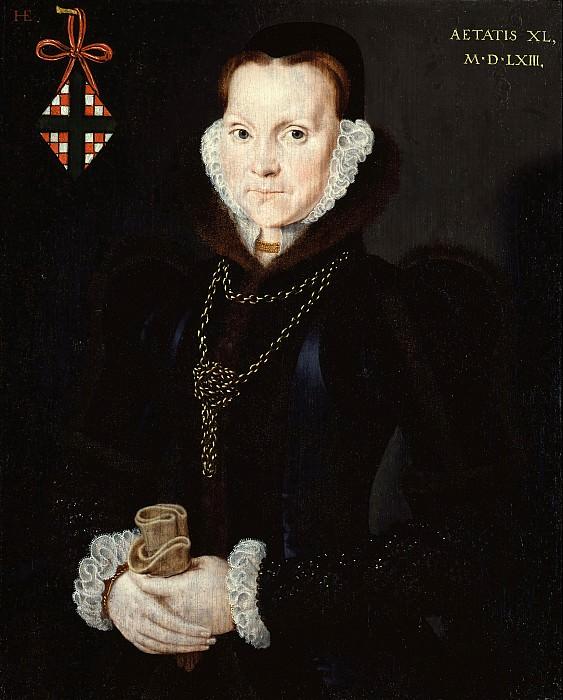Hans Eworth - Portrait of Elizabeth Roydon, Lady Golding. Tate Britain (London)