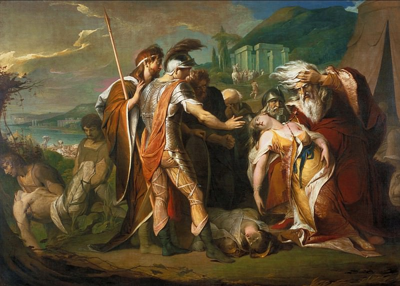 James Barry - King Lear Weeping over the Dead Body of Cordelia. Tate Britain (London)