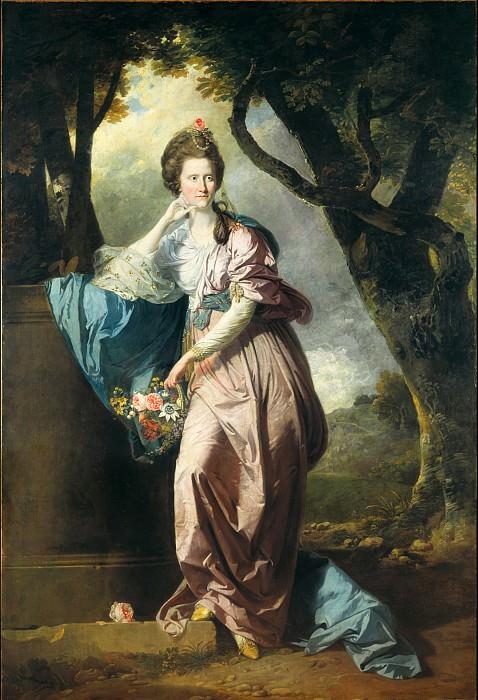 Johan Zoffany - Mrs Woodhull. Tate Britain (London)