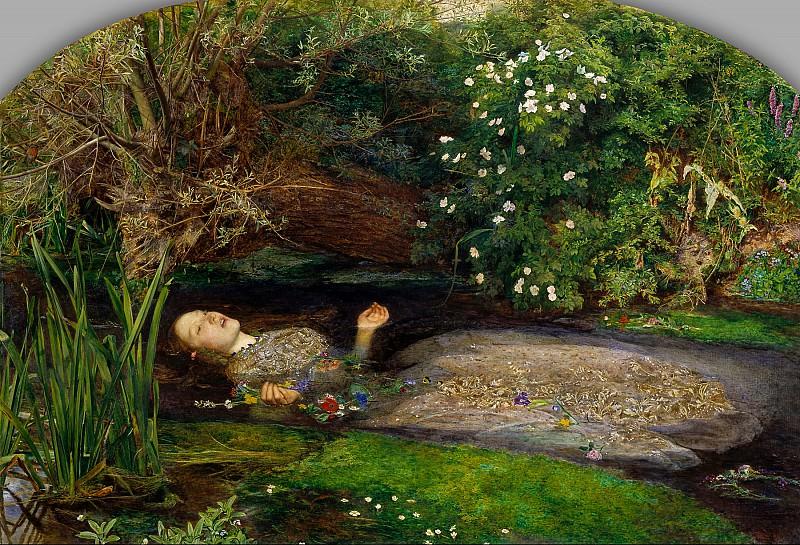 Sir John Everett Millais - Ophelia. Tate Britain (London)